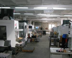 Photo: Manufacturing capabilities of our partner's located in the same building hosting the HPS assembly hall
